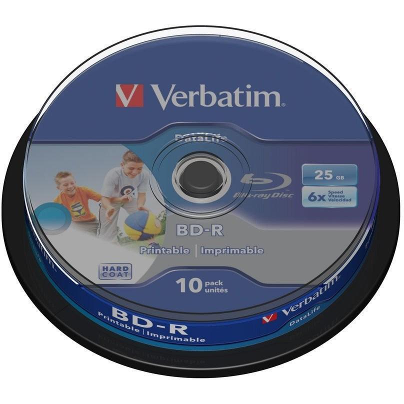 Mediu optic BD-R SL Datalife 6X 25GB 10 bucati thumbnail