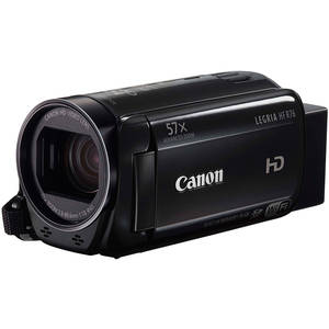 Camera video Canon Legria HF R76 Full HD WiFi Black