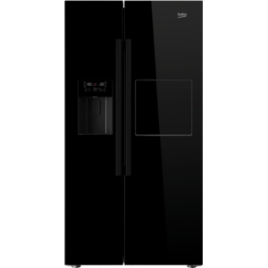 Frigider Side-by-Side Beko GN162420P 544 Litri No Frost - Dual Cooling A+ Negru