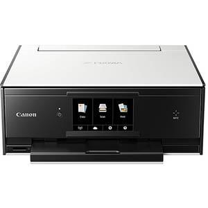 Multifunctionala inkjet Canon Pixma TS9050 A4 White