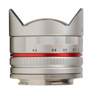 Obiectiv Samyang 8mm f/2.8 Fisheye Silver montura Canon M