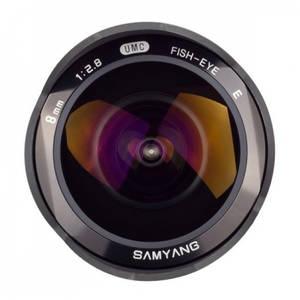 Obiectiv Samyang 8mm f/2.8 Fisheye Black montura Samsung NX
