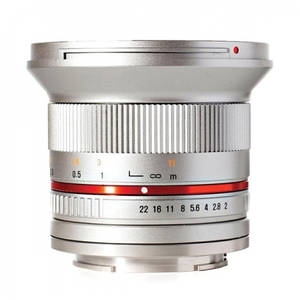 Obiectiv Samyang 12mm f/2.0 NCS CS Silver montura Micro Four Thirds