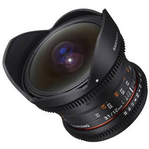 Obiectiv Samyang 12mm T3.1 VDSLR montura Micro Four Thirds