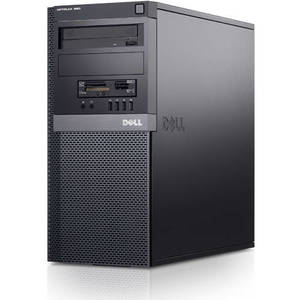Desktop PC refurbished Dell 960 Dual-Core E6700 3.2Ghz 4GB DDR2 250GB Sata DVDRW Tower Soft Preinstalat Windows 10 Home