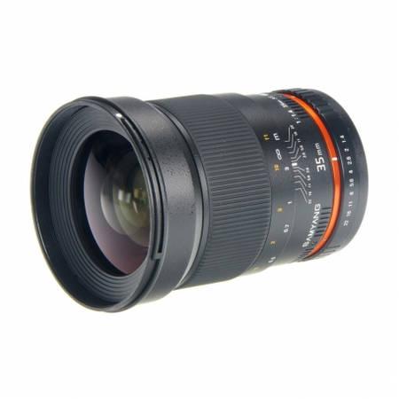 Obiectiv Samyang 35mm f/1.4 montura Sony E
