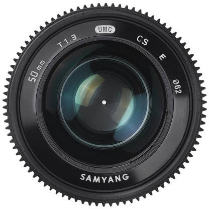 Obiectiv Samyang 50mm T1.3 VDSLR montura Fuji X