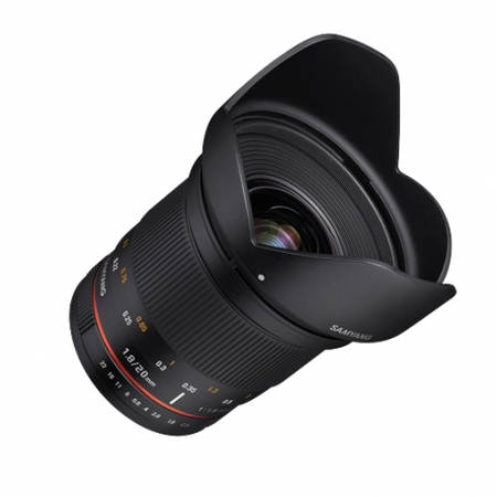 Obiectiv Samyang 20mm f/1.8 ED AS UMC montura Micro Four Thirds