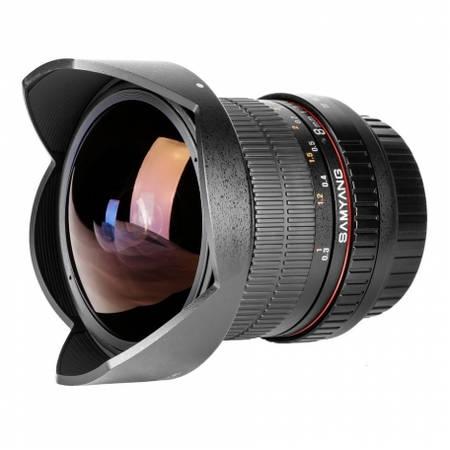 Obiectiv Samyang 8mm f/3.5 montura Fuji X
