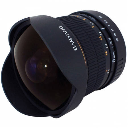 Obiectiv Samyang 8mm f/3.5 montura Micro Four Thirds