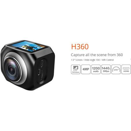 Camera Video de Actiune Eken H360 HDMI WiFi