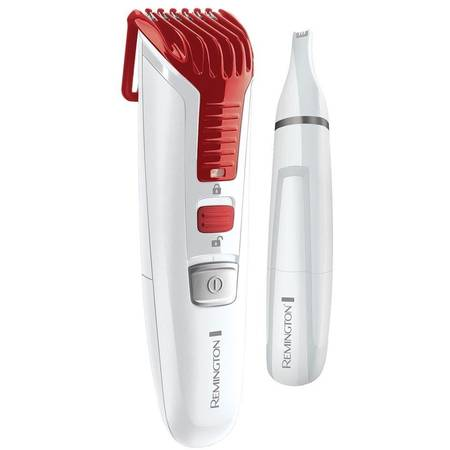 Masina de tuns barba si mustata Remington MB4122 + Trimmer NE3156 White