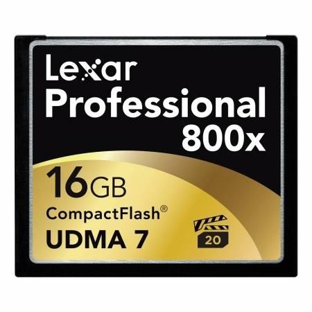 Card Lexar Professional CF 16GB  800X Udma 7