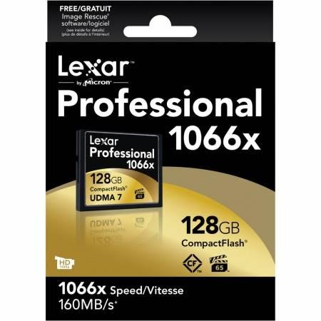 Card Lexar Professional CF Card 128GB 1066x UDMA7