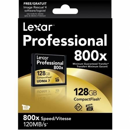 Card Lexar Professional CF Card 128GB 800x UDMA 7