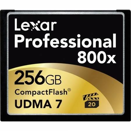 Card Lexar Professional CF Card 256GB 800x UDMA 7