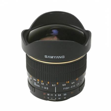 Obiectiv Samyang 8mm f/3.5 E-System VG-10 Edition montura Sony E