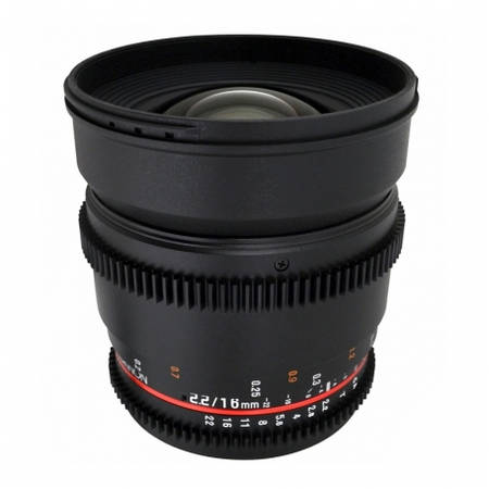 Obiectiv Samyang 16mm T2.2 VDSLR montura Fuji X