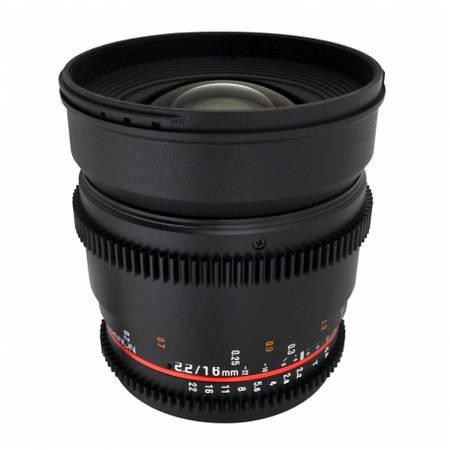 Obiectiv Samyang 16mm T2.2 VDSLR montura Micro Four Thirds