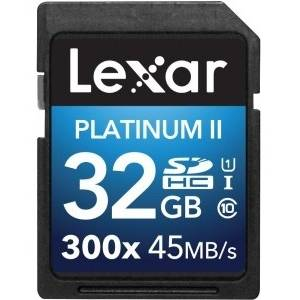 Card Lexar SDHC 32Gb 300x CLS 10 UHS-I 45MB/s