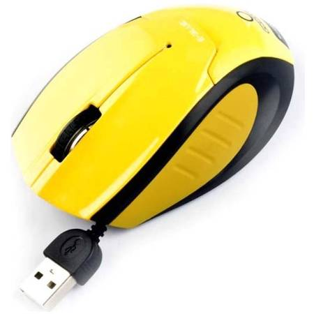 Mouse E-Blue Extency Yellow