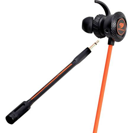 Casti gaming Cougar Megara Black / Orange