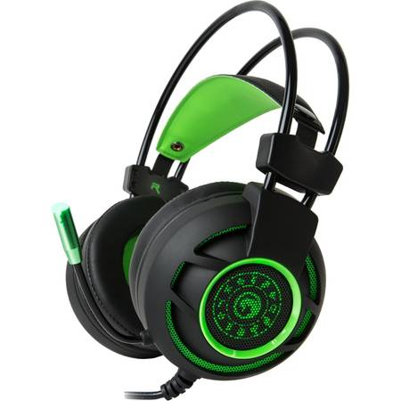 Casti gaming Marvo HG9012 Green