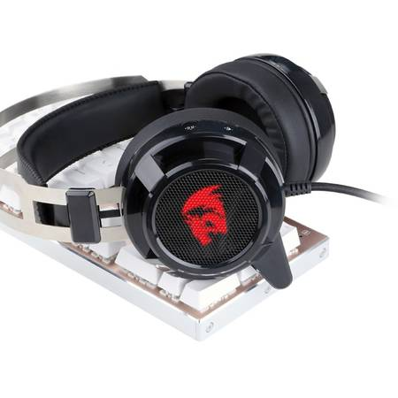 Casti gaming Redragon Siren Black