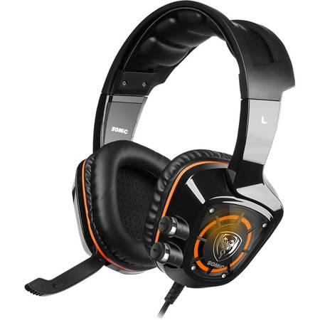 Casti gaming Somic G910 7.1 Surround Black