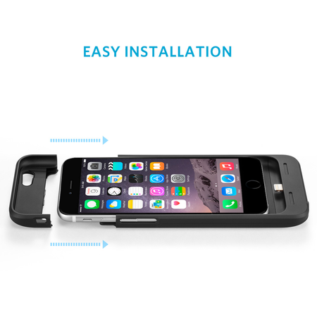 Acumulator extern Anker Freedy - Carcasa cu incarcare wireless iPhone 6/6s