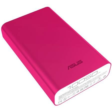 Acumulator extern Asus ZenPower - Incarcator portabil universal, 10050 mAh, roz