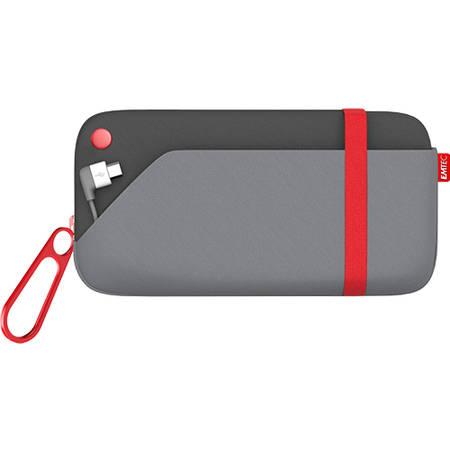 Acumulator extern Emtec husa micro USB Power Pouch U500 6000MAH pentru Apple
