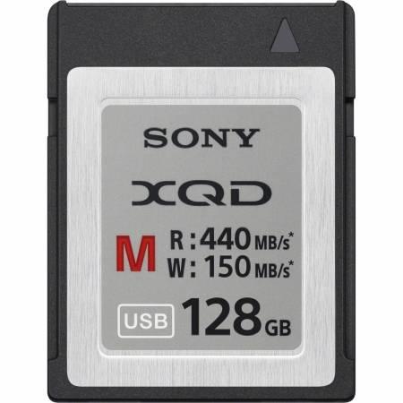 Card Sony XQD Seria M, 128GB, 440MB/s citire, 150MB/s scriere