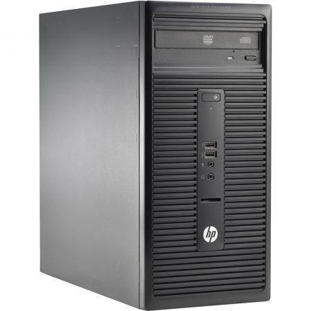 Sistem desktop HP 280 G1 MT Intel Core i5 i5-4590S 4GB HDD500 Black