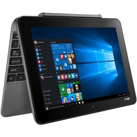 Laptop Asus Transformer Book T101HA-GR001T 10.1 inch WXGA Touch Intel Atom x5-Z8350 2GB DDR3 RAM 32GB eMMC Windows 10 Grey