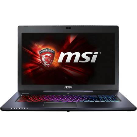 Laptop MSI GS70 6QD Stelth 17.3 inch Full HD Intel Core i7-6700HQ 8GB DDR4 1TB HDD 128GB SSD nVidia GeForce GTX 965M 2GB Black