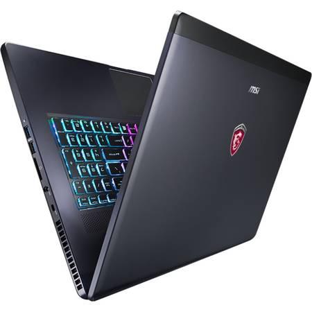 Laptop MSI GS70 6QD Stelth 17.3 inch Full HD Intel Core i7-6700HQ 8GB DDR4 1TB HDD 128GB SSD nVidia GeForce GTX 965M 2GB Black