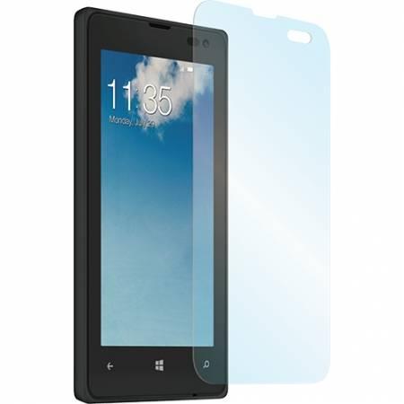 Folie protectie Muvit din sticla securizata pentru Nokia Lumia 435