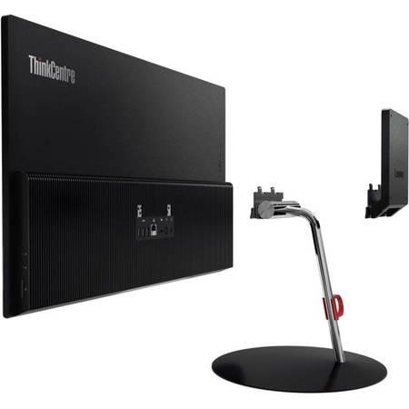 Sistem All in One Lenovo ThinkCentre X1 23.8 inch Full HD Intel Core i5-6200U 8GB DDR4 256GB SSD Windows 7 Pro Black