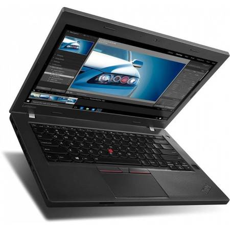 Laptop Lenovo Thinkpad T460p 14 inch Full HD Intel Core i5-6300HQ 8GB DDR4 256GB SSD FPR Windows 7 Pro upgrade Windows 10 Pro