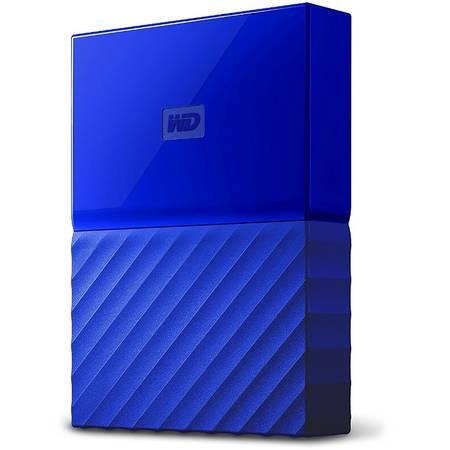 Hard disk extern Western Digital My Passport New 2TB 2.5 inch USB 3.0 Blue