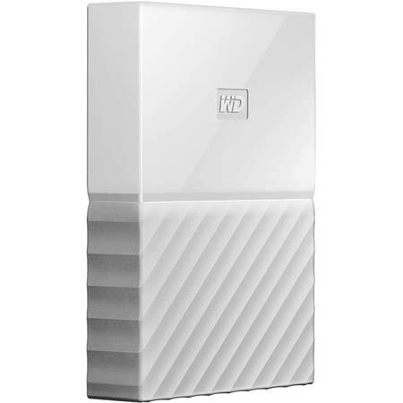 Hard disk extern Western Digital My Passport New 4TB USB 3.0 White