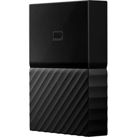 Hard disk extern Western Digital My Passport New 2TB 2.5 inch USB 3.0 Black