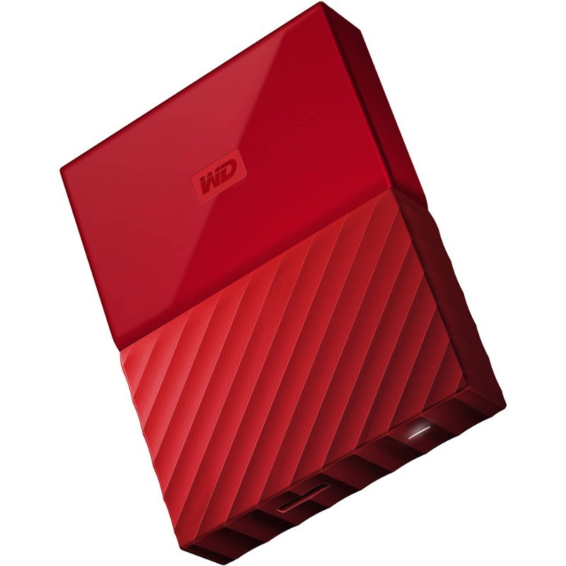 Hard Disk Extern My Passport New 2tb 2.5 Inch Usb 3.0 Red