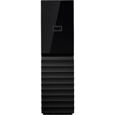 Hard disk extern Western Digital My Book New 3TB 3.5 inch USB 3.0 Black