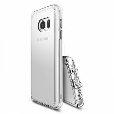 Folie protectie Ringke pentru Galaxy S7 Fusion - capac crystal view + folie