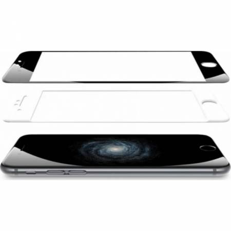 Folie protectie Tellur din sticla pentru Iphone 6  alb