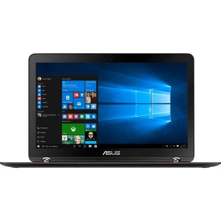 Laptop Asus ZenBook Flip X560UQ-FJ045R 15.6 inch Full HD Intel Core i7-7500U 16GB DDR4 512GB SSD nVidia GeForce 940MX 2GB Windows 10 Pro Black