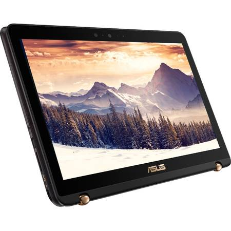 Laptop Asus ZenBook Flip X560UQ-FJ044T 15.6 inch Full HD Intel Core i7-7500U 8GB DDR4 512GB SSD nVidia GeForce 940MX 2GB Windows 10 Black