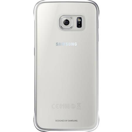 Folie protectie - EF-QG920BFEGWW - Husa capac spate Clear pentru Samsung Galaxy S6 - auriu